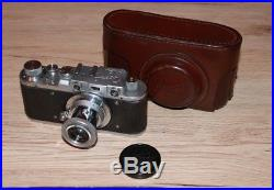 Zorki Leica-Copy 35mm Rangefinder Camera (Fully Functional + Leather Case)